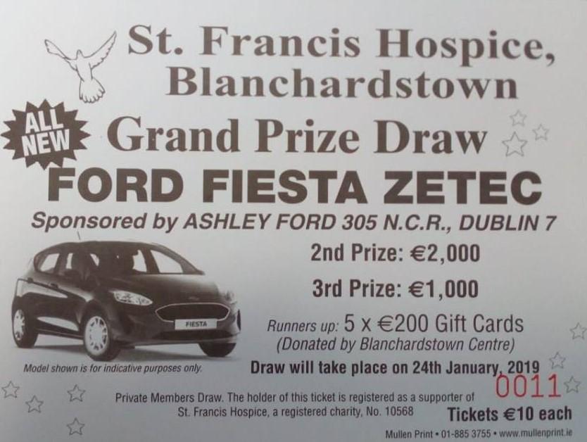 Hospice Car Draw