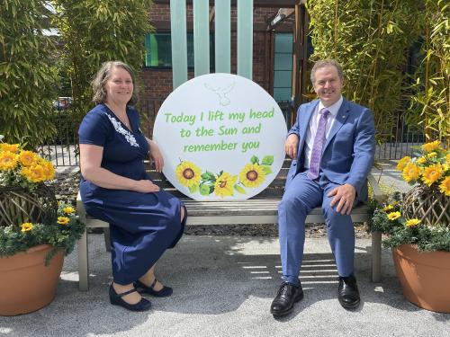 St Francis Hospice Dublin Sunflower of Life Reflection Video
