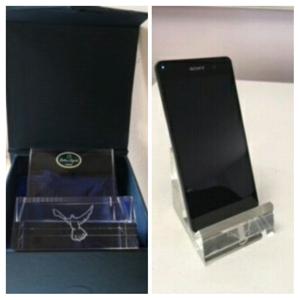 Crystal Mobile Phone/Tablet Holder