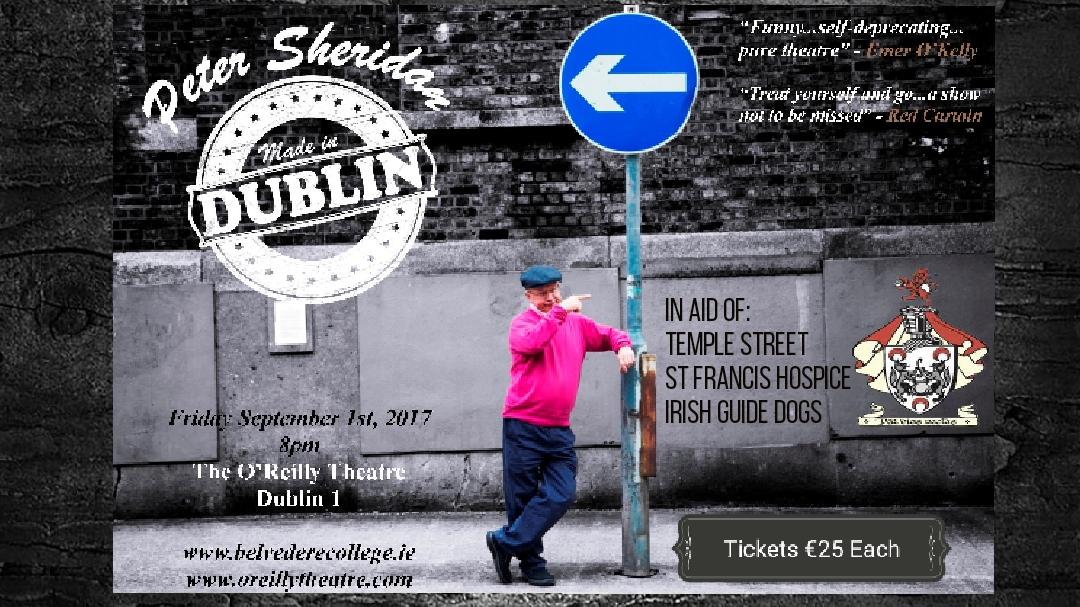 Peter Sheridan's one man show 'Made in Dublin'